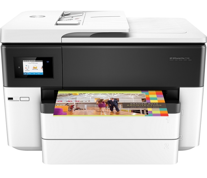 HP OfficeJet Pro 7740 Genis Format All-in-One Yazici (G5J38A) (HP 953))